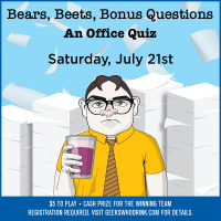 Bears, Beets, Bonus Questions: An Office Quiz