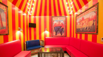 Room 1: BIG TOP *Wheelchair Accessible
